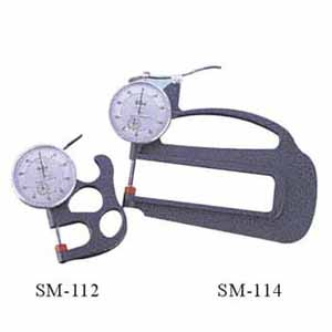 Thickness gauge tester