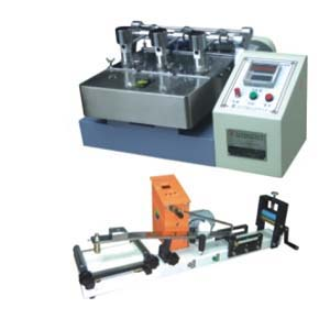 Wire print hand color fastness tester