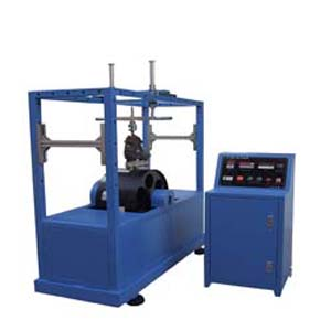Roller skate dynamic fatigue tester